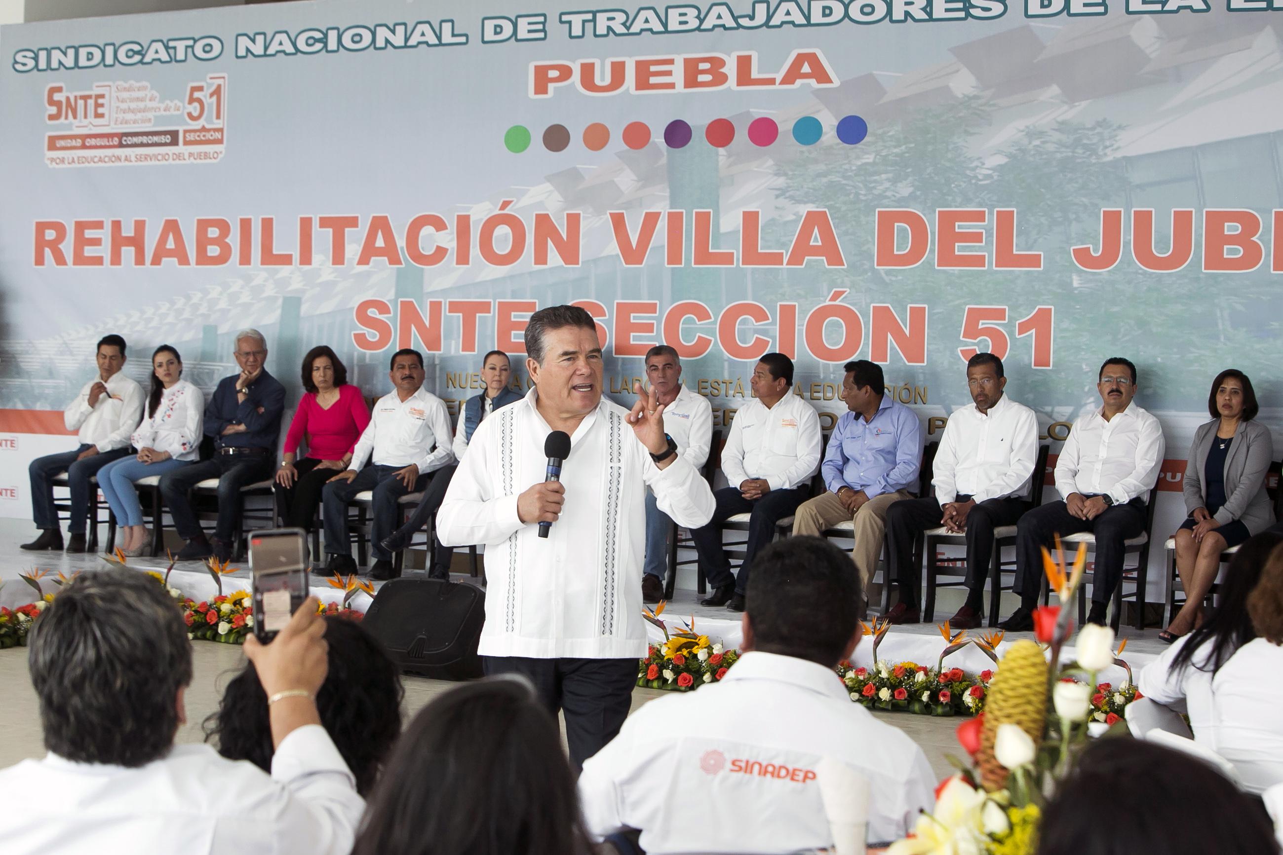 El SNTE da la lucha por sus jubilados – Raúl Sánchez Carrillo TV
